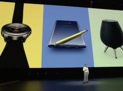 Samsung 三響砲 Galaxy Note 9 、 Galaxy Watch 、 Galaxy Home