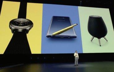 Samsung 三響砲 Galaxy Note 9 、 Galaxy Watch 、 Galaxy Home