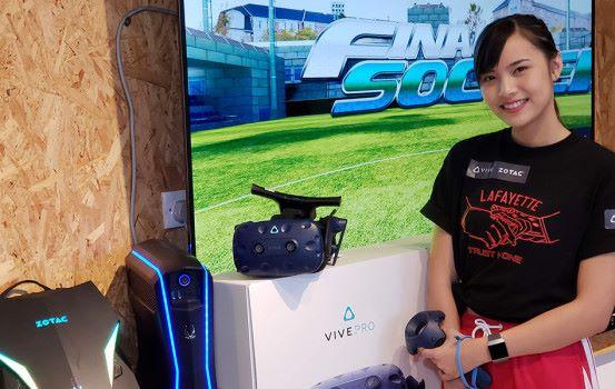 HTC VIVE VR 電競大賽降臨電競音樂節!Beat Saber 美少女高手同場現身