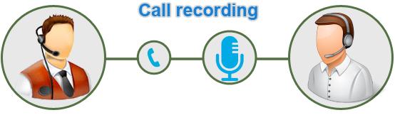 很多機構都會將會電話通話內容作錄音並記錄,但會事先提醒客戶