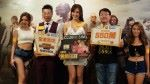 CSL Mobile 市場營銷總裁暨 The Club 行政總裁 Bruce Lam 聯同騰訊 XXX 及張曦雯出席宣傳「csl《PUBG MOBILE》全港電競挑戰賽」。