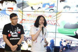 首個官方授權比賽,日本 KLabGames 團隊現身會場為大家打氣,其中製作人藤好 俊於台上答謝香港玩家的熱烈支持。