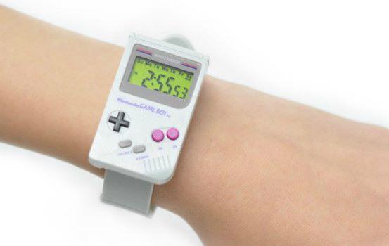 玩味十足的元祖 GameBoy 腕錶