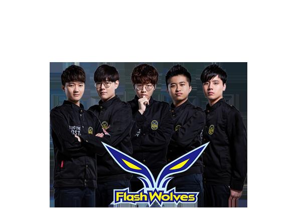 「閃電狼」的五名成員 「上路」達人 Hanabi 、「打野」能手 MooJin 、「中路」好手 Maple 、「AD位」選手 Betty 與「輔助」高手 SwordArT 將遠道而來到香港。