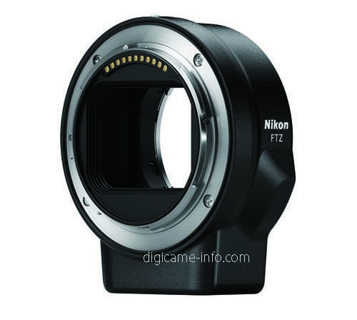 FTZ 轉接環對應舊有的 Nikon F 單反鏡頭。