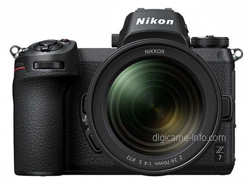 Nikon Z6 與 Z7 的外形幾乎一樣。