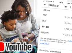 防止濫用 YouTube 一系列健康使用功能啟動