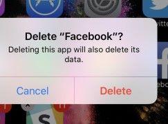 26% 美國 Facebook 用戶過去 12 個月內將 Facebook App 刪除