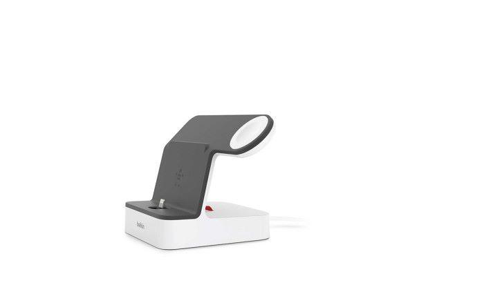 更新版 PowerHouse 有線充電座加入紅色調節器 Red Dial ,可以調整 Lightning 接頭位置。