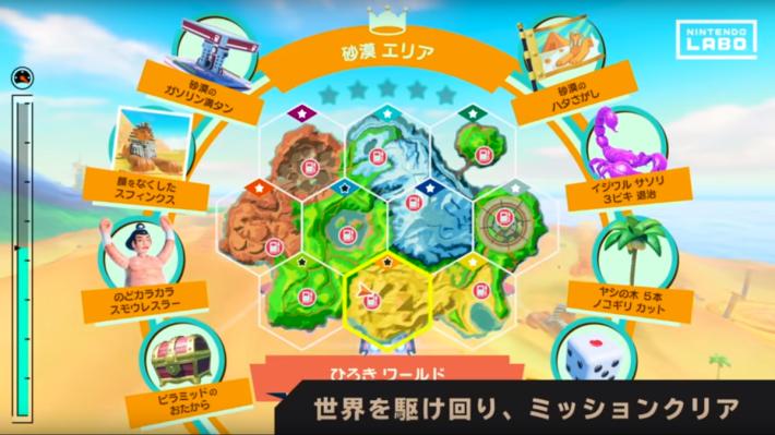 駕駛模式中有十個不同地區,並有各式各樣的任務去讓玩家挑戰。