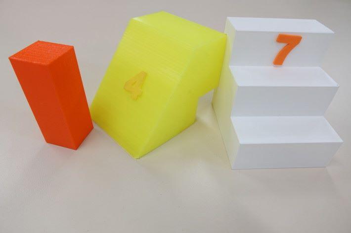 多邊形計算是初中數學的難點之一,但當製成實物就較易理解,而且學生在課堂興趣十足。