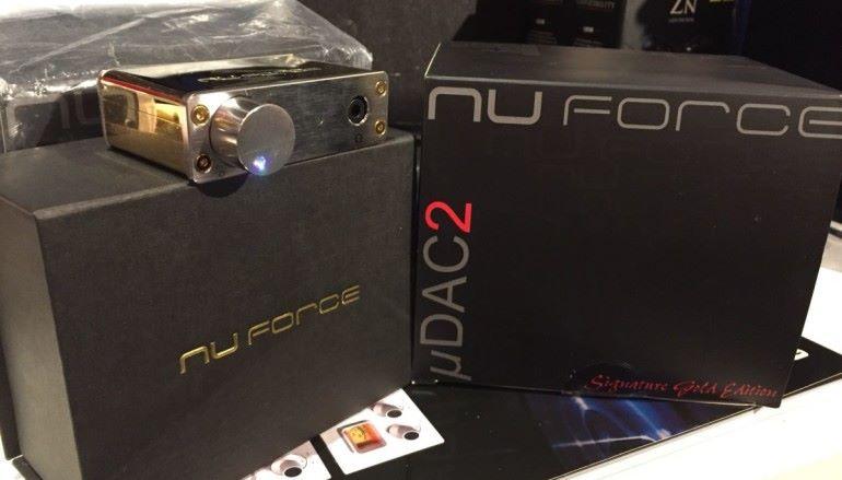 迷你解碼/耳擴 NuForce uDAC-2 Signature Gold Edition 三二折