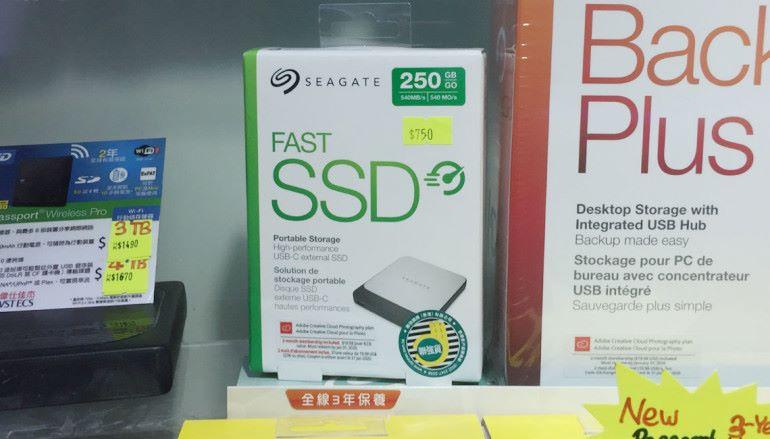 進軍 SSD Seagate 玩外置