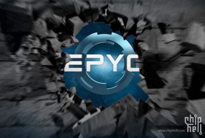 以及附上 EPYC 宣傳圖。