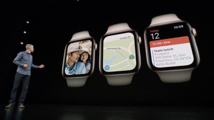 屏幕更大,顯示範圍也更廣,邊框相對收窄了。