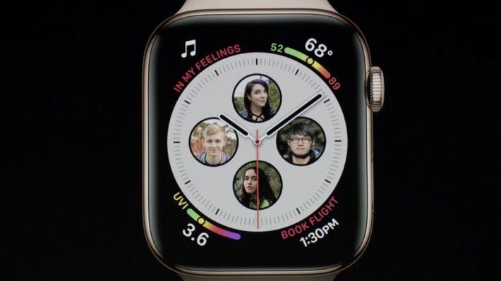 新增多種不同的 Watch Face。