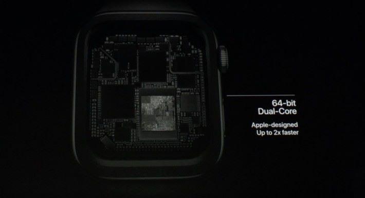 內置 64-bit Dual-Core 的 S4 處理器,比舊的快 2x。