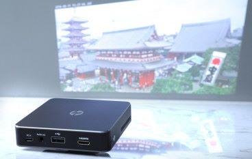 HP MP100 流動投影機隨時充電隨時睇