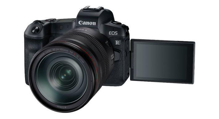 Canon EOS R 設有 3.15 吋 210 萬側揭式多角度 LCD 屏幕。