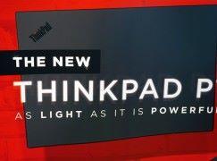 最輕巧的軍規級 Workstation Lenovo Thinkpad P1