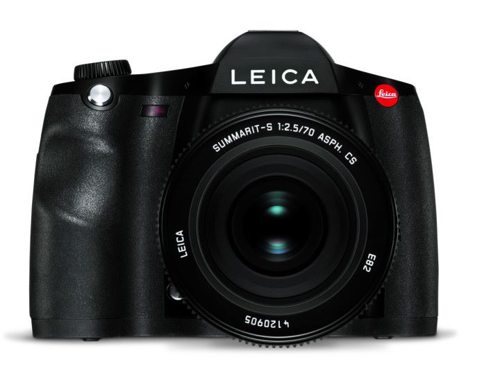 Leica S3 的外形穩如泰山。