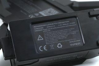 使用 3S 2,800mAh 電池下,飛行時間最多達 33 分鐘,比 Mavic Air 更長。
