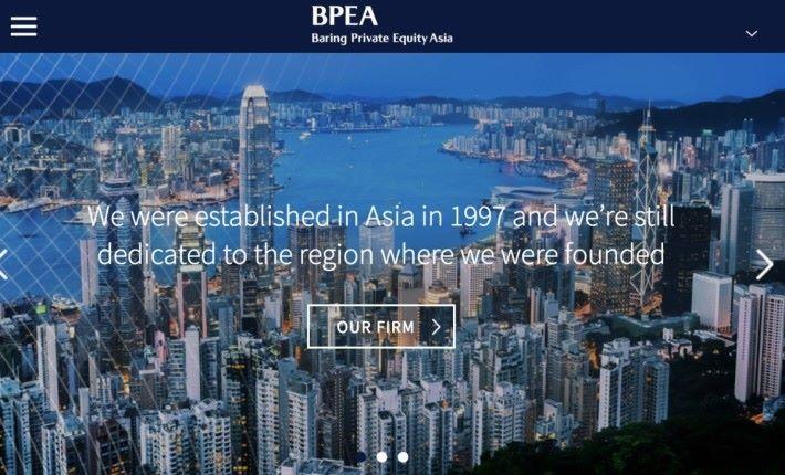 BPEA 是在香港有據點,運用資產合計超過 160 億美元的環球投資基金。