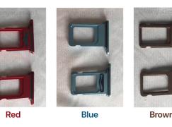 SIM 卡托盤照片流出 揭示 6.1 吋 iPhone 五種顏色?!
