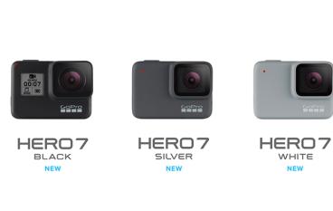 GoPro HERO 7 三種款式 Black 版支援直接 Facebook Live 直播