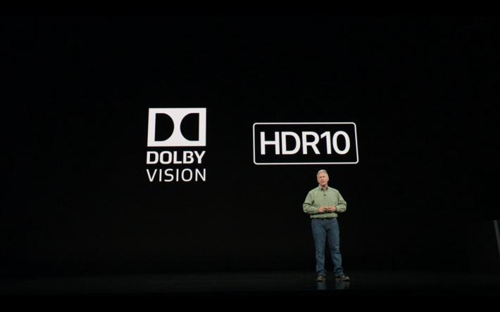 屏幕支援 Dolby Vision 及 HDR10 顯示。