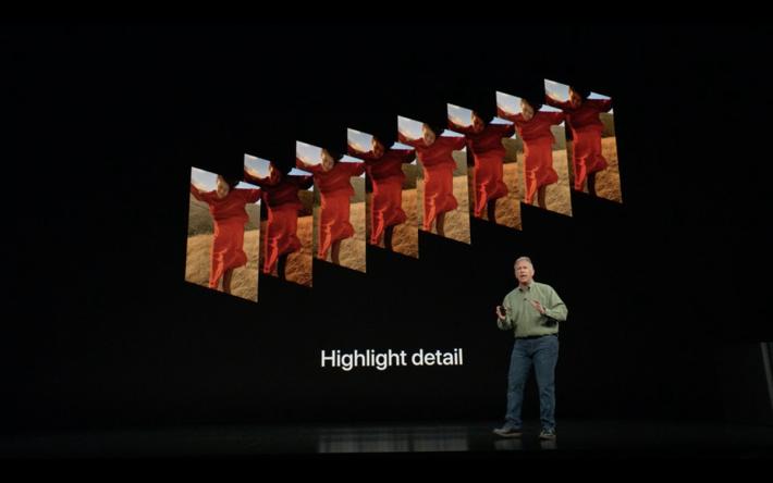 新增「Smart HDR」功能令相片光暗位表現再加強。