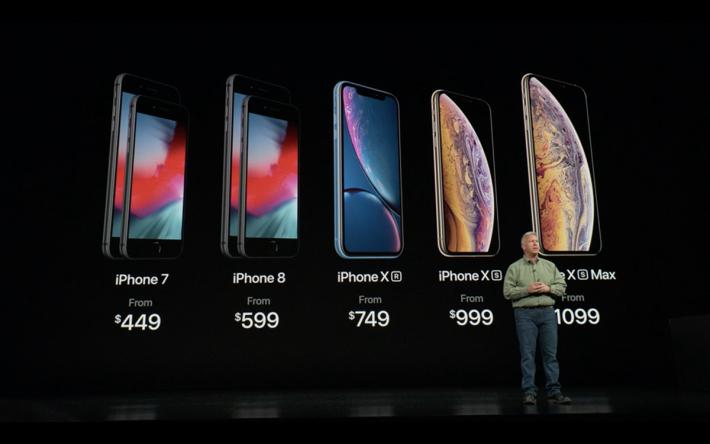 iPhone Xs Max 面世來接 iPhone 8 Plus 的班,因此產品線只餘下 iPhone 8。