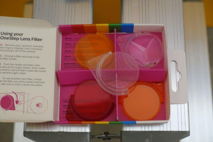 同時推出的 Lens Filter Set,一套五件。