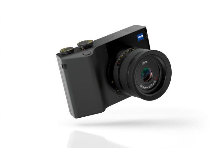 不難發現 Zeiss ZX1 的外形與 Sony RX1 非常相似。