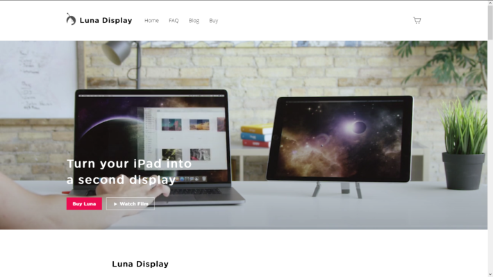 lunar display 提供無線的副屏幕接連方案