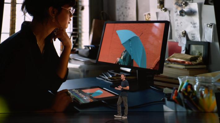 新 iPad 能接駁 5K 屏幕