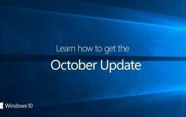 Windows 10 十月大更新正式推出