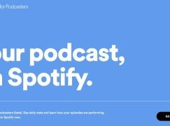 向 Podcaster 招手 Spotify 公測 Podcast 功能