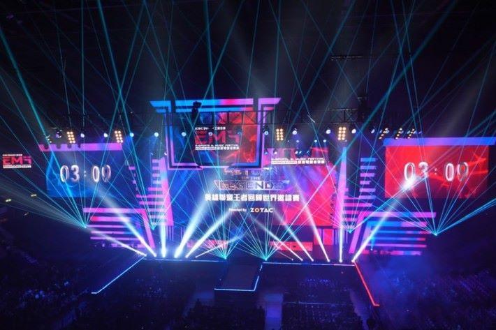 電競音樂節來到第二年,依然吸引到本地以及外國人士支持。