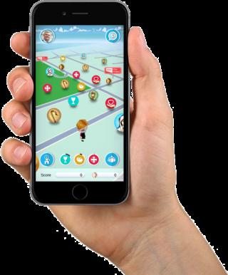 遊戲地圖很像《 Pokèmon GO 》,玩家要在地圖上收集麵包、水和銀幣,並找尋聖人的行踪。