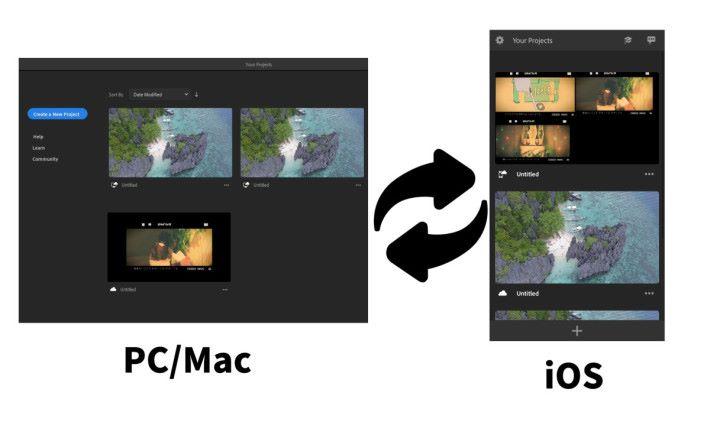 Premiere Rush 是少數跨平台剪片軟件。