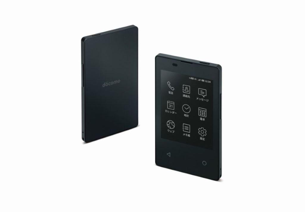 Docomo 推出 E-ink 屏幕手機