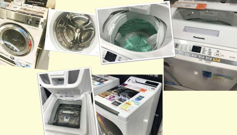 洗衣機暗藏 STEM