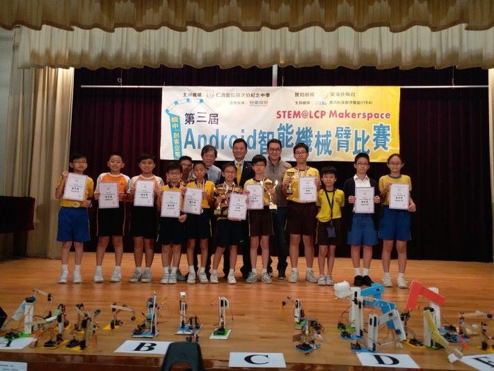 Arduino 比賽已是第三年舉行,劉老師指出有幸得到贊助機構支持。