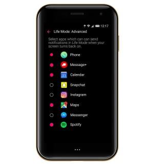 Live 模式在屏幕關閉時不會發出通知,讓用戶享受寧靜空間。但用戶仍可以選擇哪些 App 想收取信息。