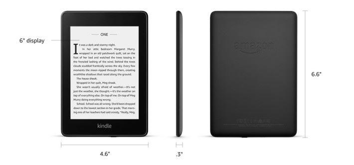 新一代的 Kindle Paperwhite 4