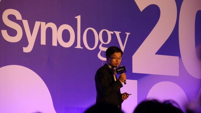 Synology 執行長呂青鴻表示他們至今已售出超過 590 萬台 NAS,全球營收增長率逾 20%。