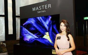 大師登場 Sony Master Series A9F 登陸香港