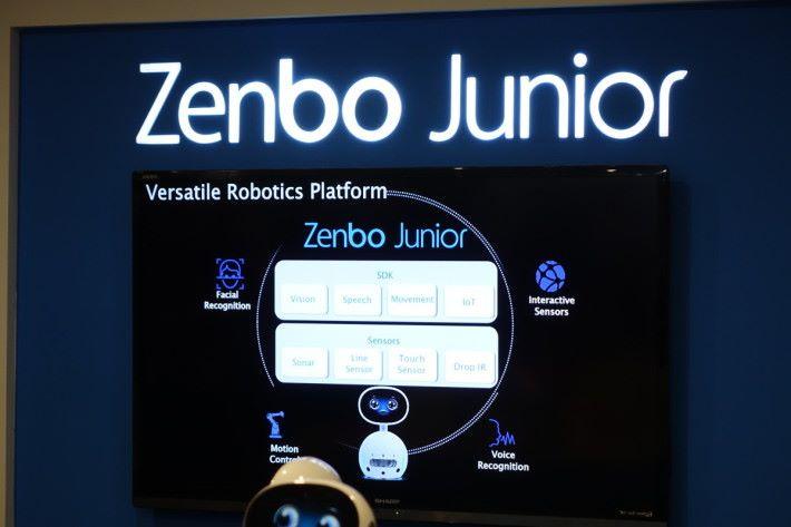 Zenbo Junior 提供各類 SDK 供開發應用