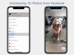 人像相片多一樣玩法 化身成 Facebook 3D Photos